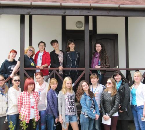 С преподавателями кафедры немецкой филологии