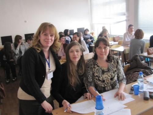 Преподаватели кафедры ГРЯ работали в жюри городского конкурса по английскому языку