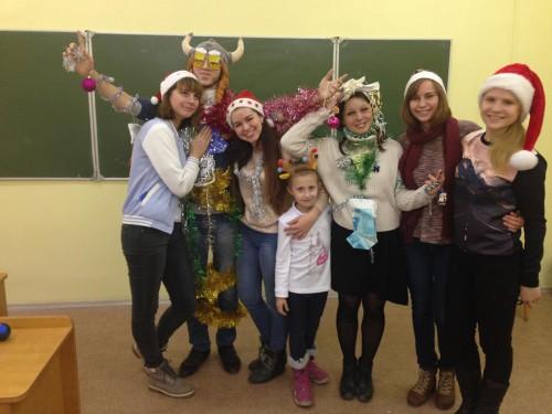 «Рождественская карусель» на кафедре немецкой филологии
