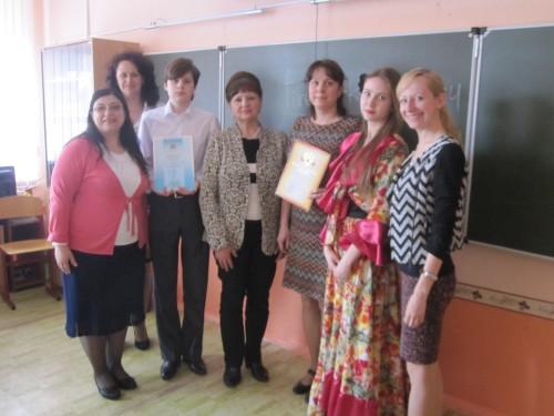 Сотрудничаем со школами (кафедра АЯиМП)