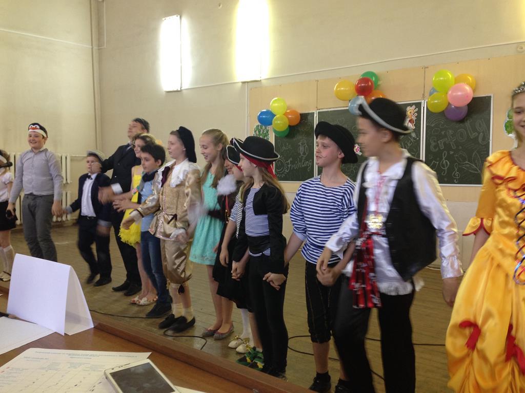 Kinderfest: инсценировка творческого коллектива гимназии № 14