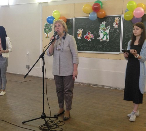 Kinderfest: приветствие директора ИИЯ Миловановой Л. А.