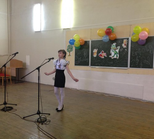 Kinderfest: выступление ученицы Серпомолотской школы