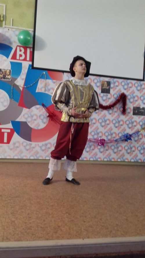 Фонетический конкурс 'Miracles in Shakespeare' (2016 г.)