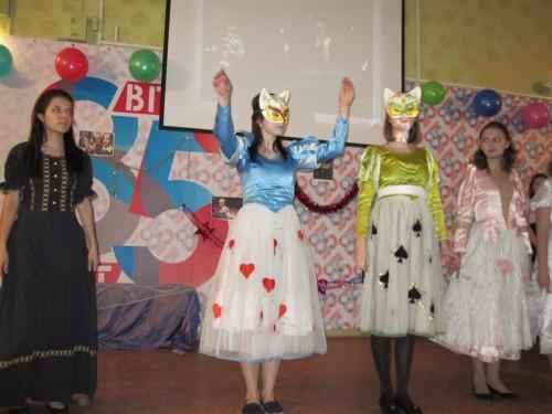Фонетический конкурс 'Miracles in Shakespeare': шоу и триумфаторы (кафедра английского языка и методики его преподавания)