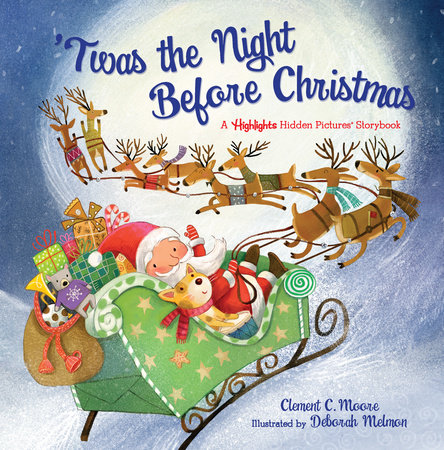 The Night Before Christmas (for the Phonetic Contest-2019)
